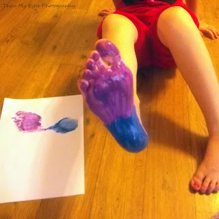 Paint Brush Foot Pictionary