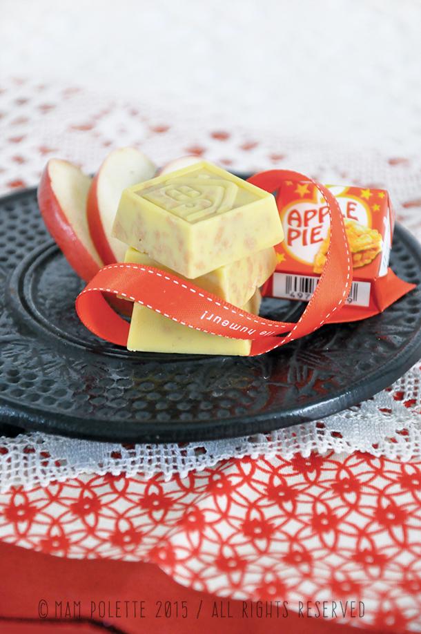 Chocolat japonais aromatisé en bouchée