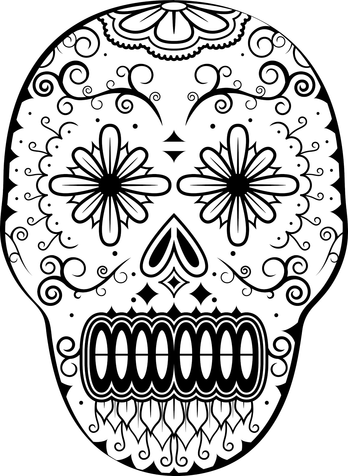 All souls day coloring pages free coloring pages for Dia de los muertos coloring pages printable