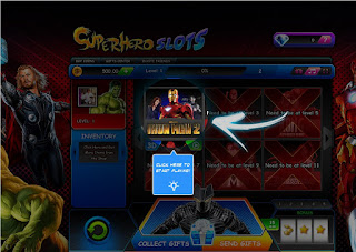 First game at Superhero Slots is Iron Man 2