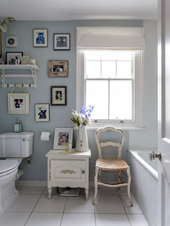 Il bagno in stile shabby