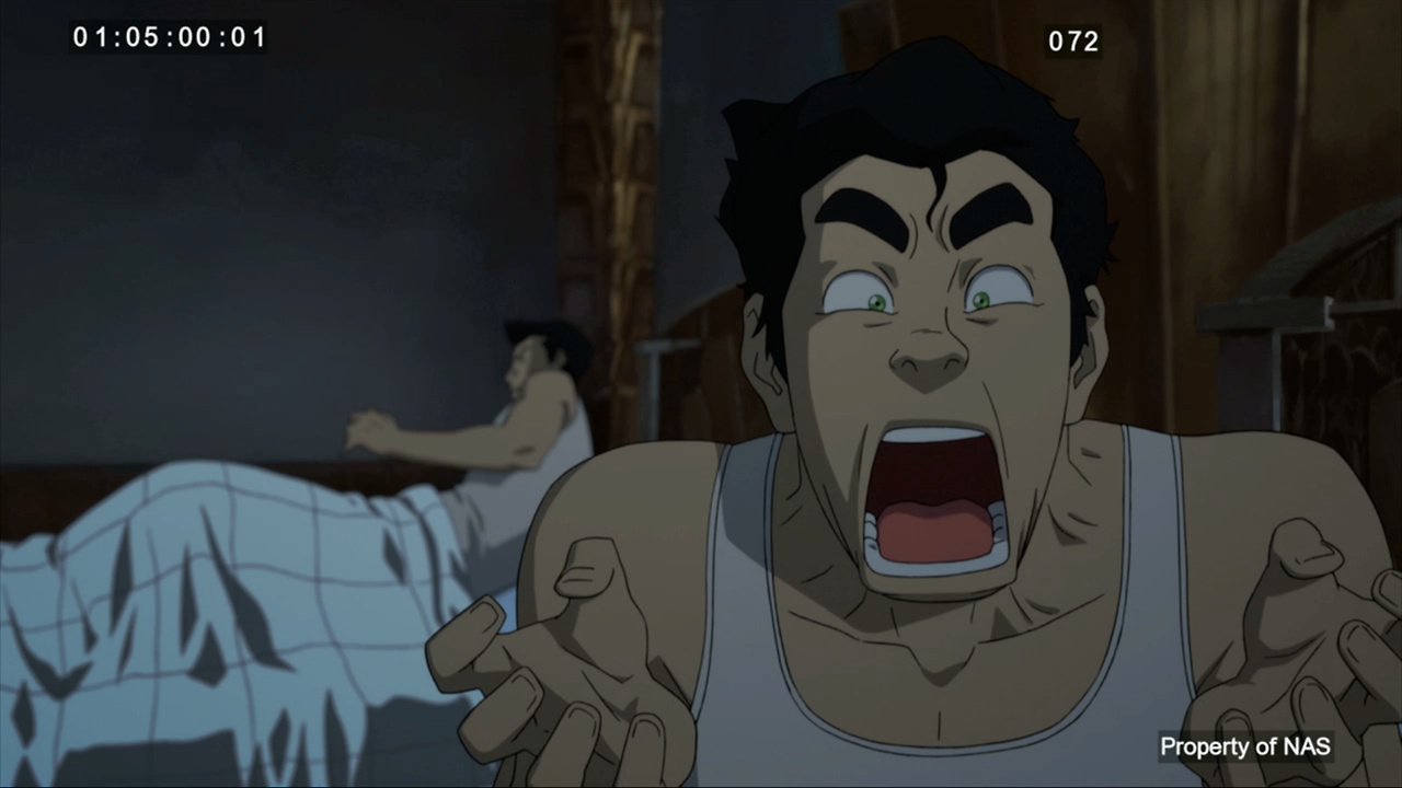 Bolin in his underwear