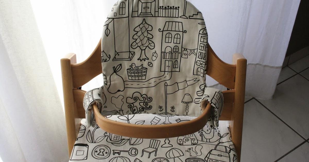 vanille fraise et chocolat assise pour chaise haute. Black Bedroom Furniture Sets. Home Design Ideas