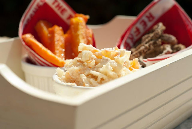 blogger, carrot, coleslaw, food, FoodDIY, fries, healthy, lunch, onion, photography, recipe, rings, skinny, summer, blog