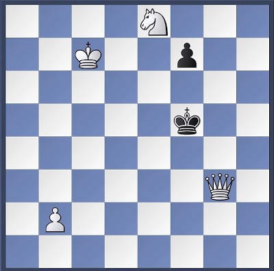 chess, chess problem, mate in three
