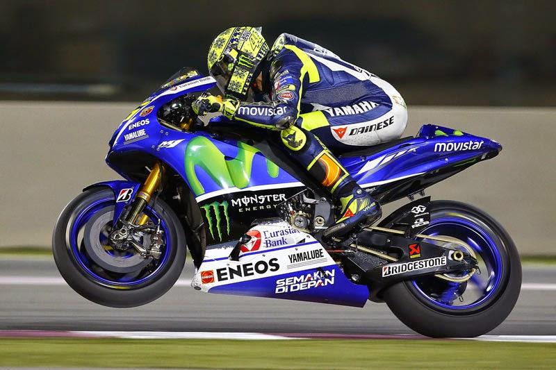 Valentino Rossi Juara MotoGP Qatar 2015