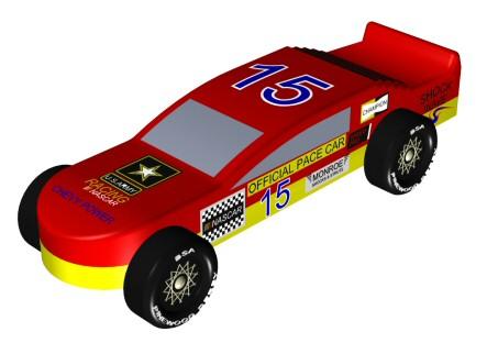 Pinewood Derby Car Design Game
