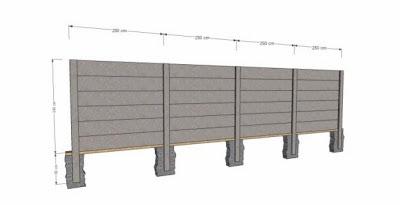 desain pagar rumah beton