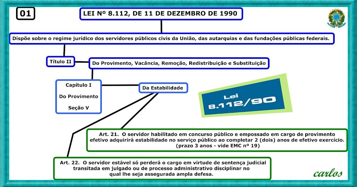 artigos 21 a 32 lei 8112/90
