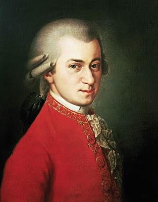 Pintura de Wolfgang Amadeus Mozart