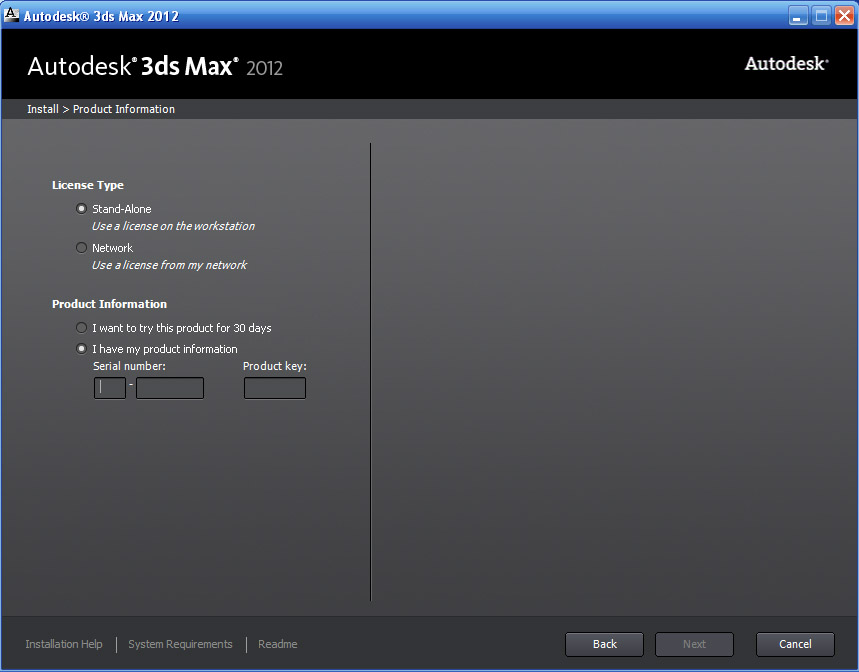3ds max 2012 product key download
