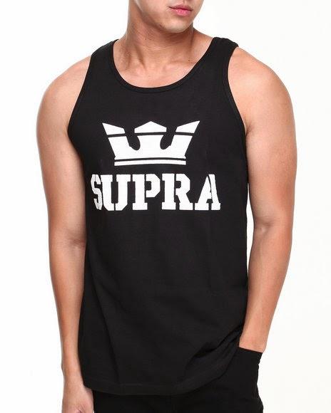 SUPRA mens tank top