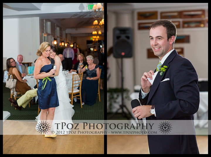 Gibson Island Club Wedding Reception