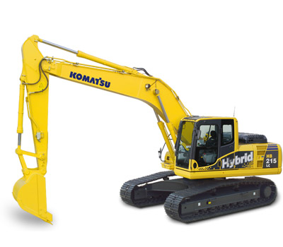 Komatsu Excavators HB215LC-1