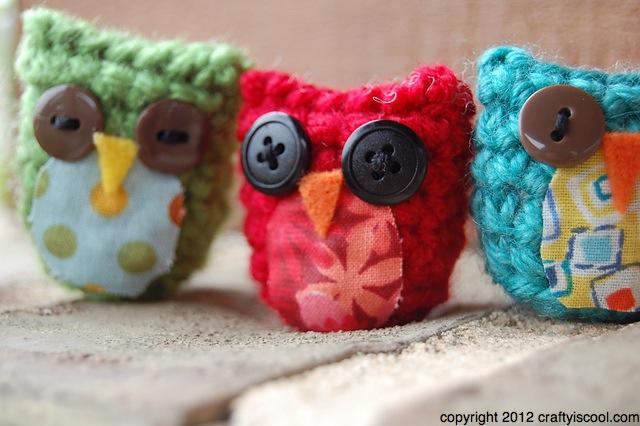 Crochet Amigurumi Panda Pattern : CRAFTYisCOOL: Free Pattern Friday! Austin Owl Amigurumi