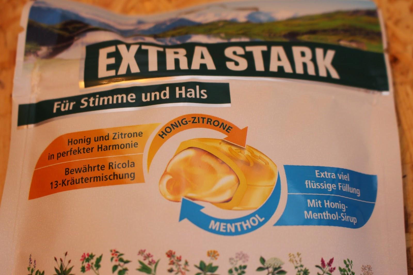 Ricola Extra Stark Honig Zitrone