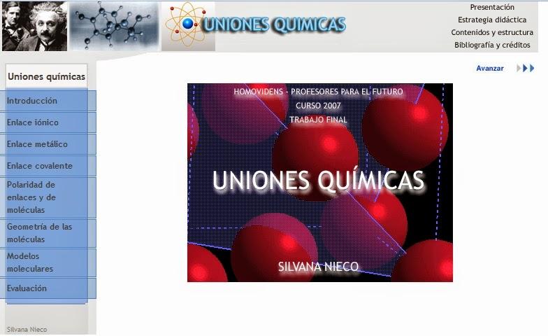 http://www.sceu.frba.utn.edu.ar/dav/homovidens/nieco/uniones-quimicas/index.htm