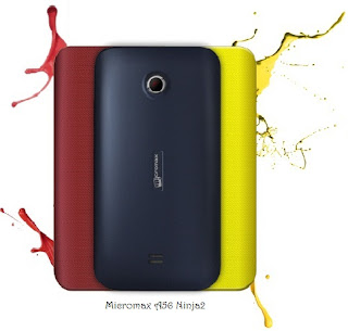 Micromax A56 Ninja2,Changeable back panel of micromax A56,