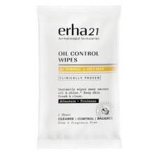Oil Control Wipes Erha21 Produk Erha Terbaru