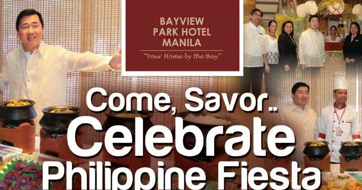 gastronomy by joy philippine fiesta at bayview park hotel. Black Bedroom Furniture Sets. Home Design Ideas