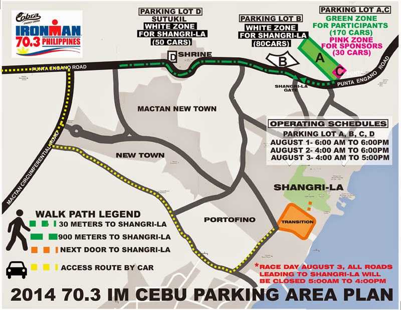 Cobra+Ironman+70.3+Philippines-2014--Parking-Plan