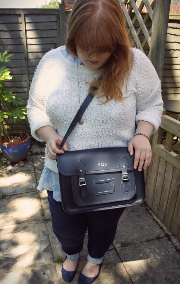 navy cambridge satchel, fashion and beauty blog, plus size fashion blog, plus size fashion,