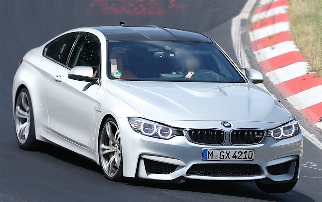BMW M4 White Color