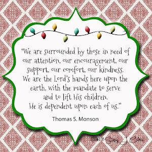 December Visiting Teaching Handout