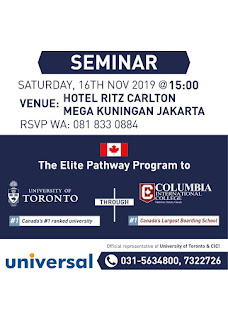 Seminar: Elite Pathway to University of Toronto