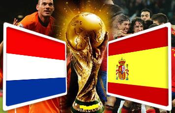 Spanyol vs Belanda Piala Dunia 2014