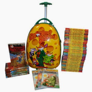 Flipkart: Buy Geronimo set of 63 Books + Free Trolley Rs.4692 at Rs.4692