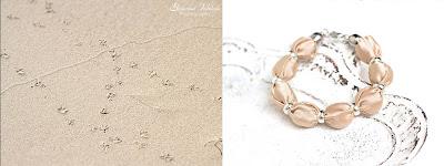 cream beige bracelet