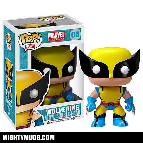 Wolverine Marvel X-men Pop! Vinyl