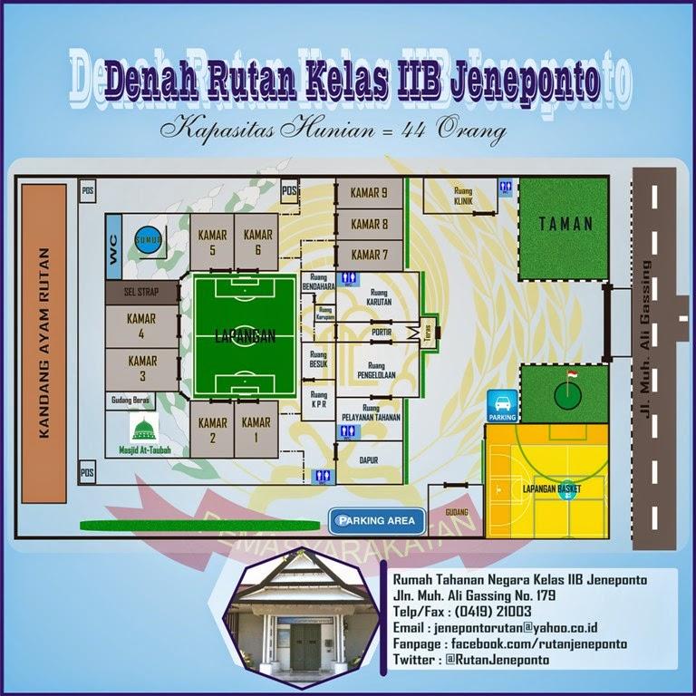 Denah Rutan Jeneponto