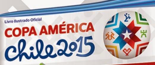 Álbum de Figurinha Copa América Chile 2015