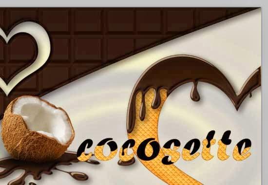 Texto con Estilo de Chocolate y Textura de Galleta 50 by Saltaalavista Blog