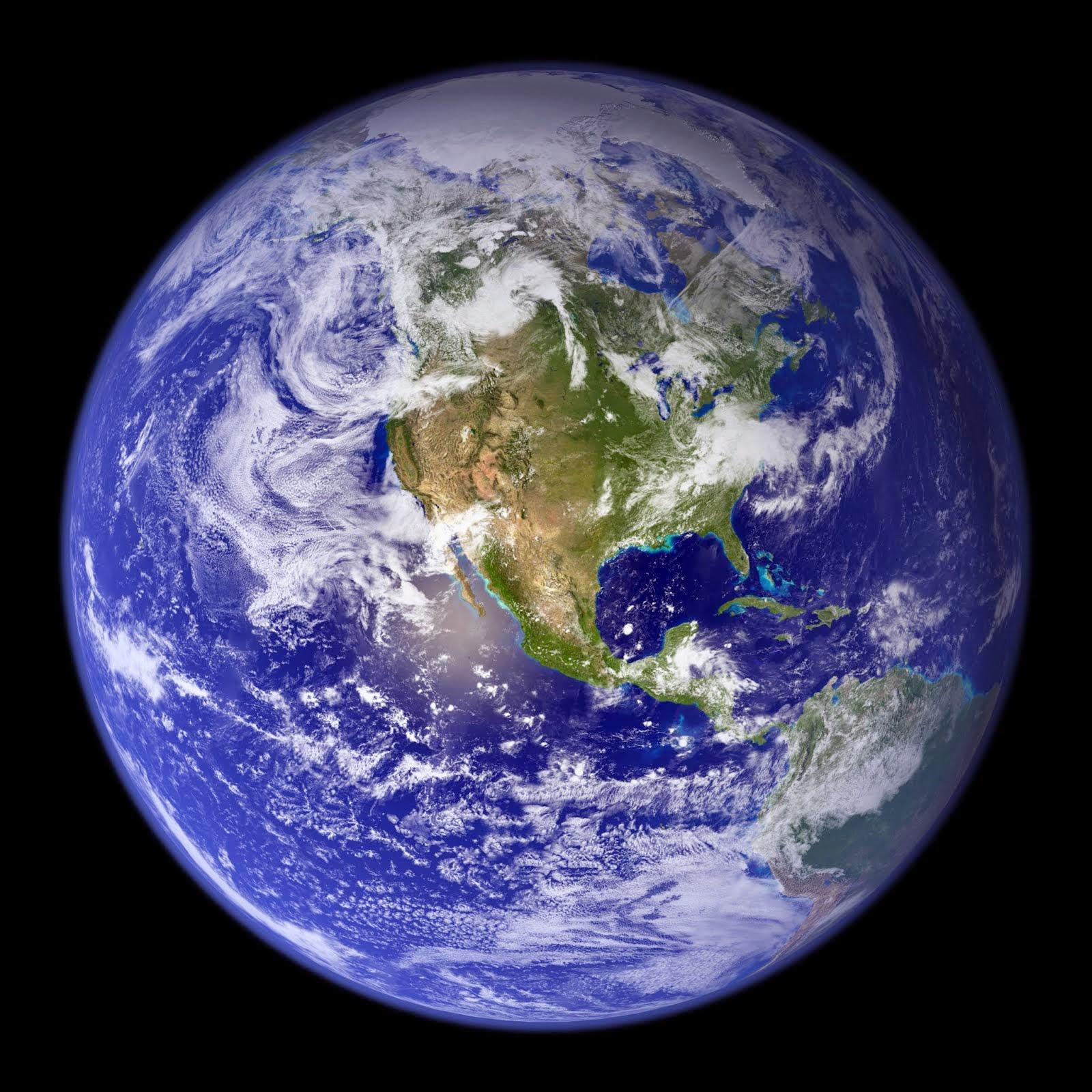 Blue Marble - Globe West