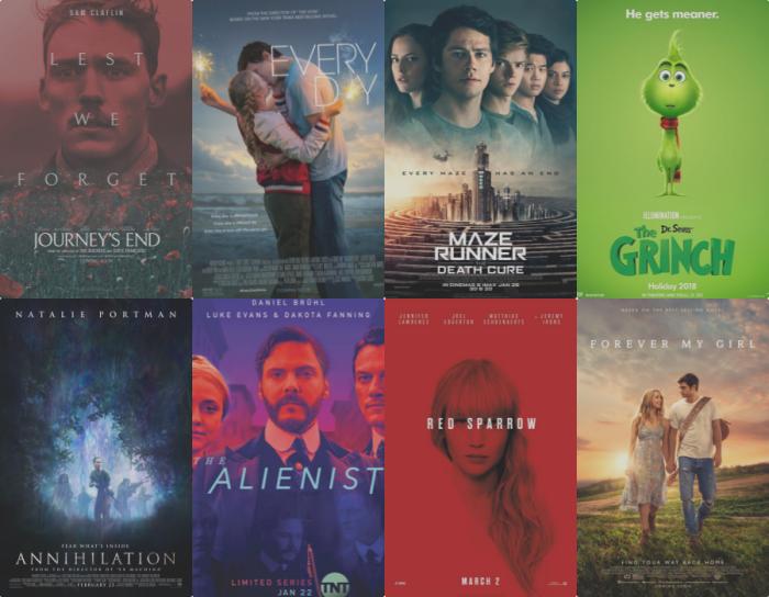 Lista de adaptaciones 2018