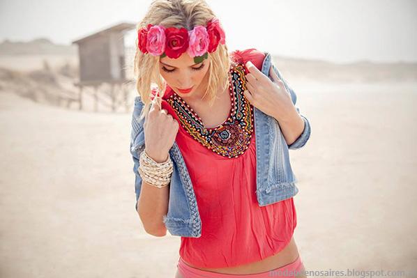 Ropa de mujer moda verano 2014, colección Sweet 2014.