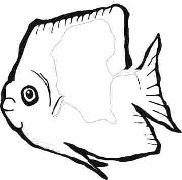 Fishing Coloring Pages