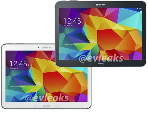 Svelate le prime immagini ufficiali di Galaxy Tab 4 10.1 di Samsung