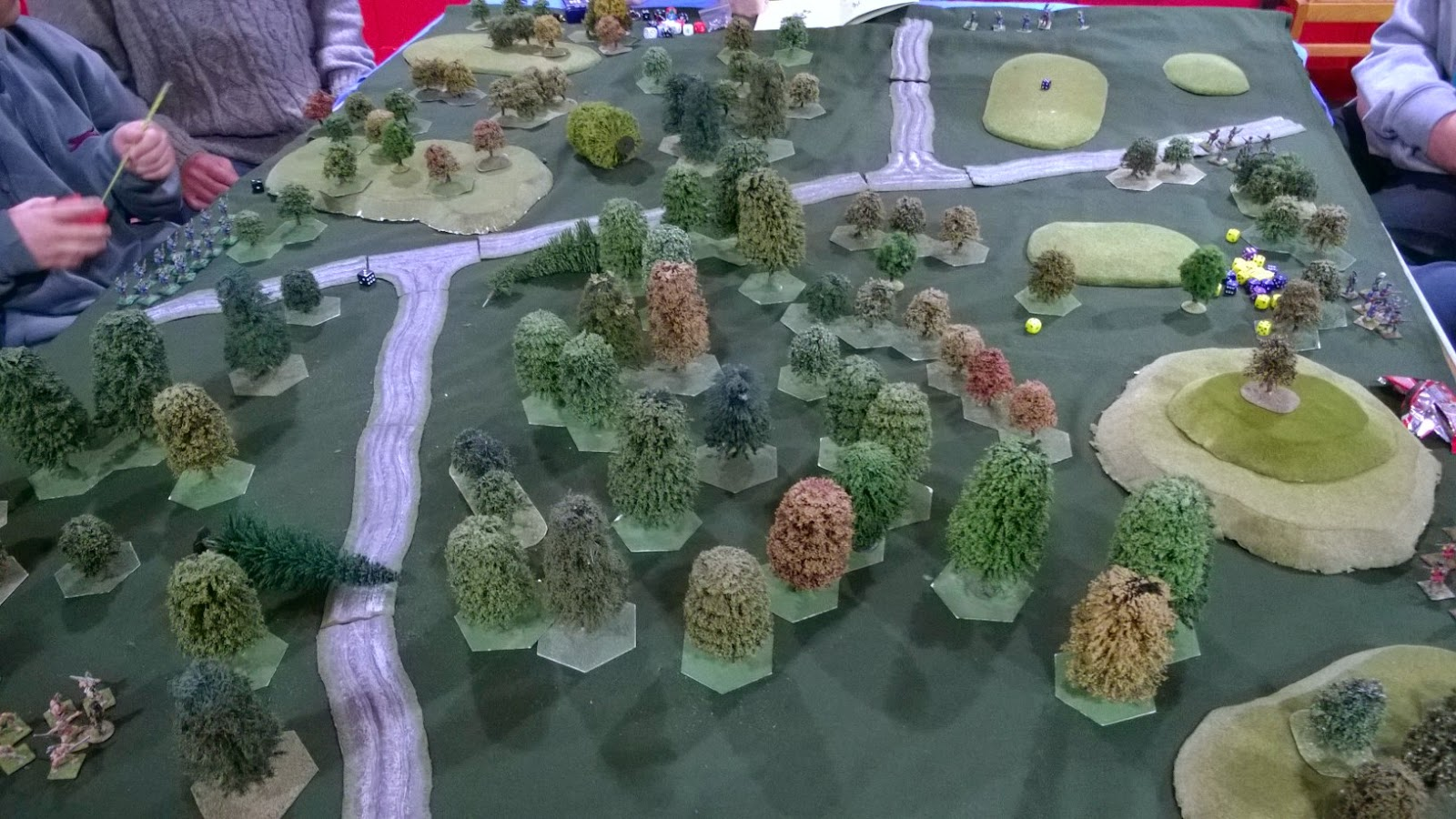 French Indian Wars Ranger Wargame