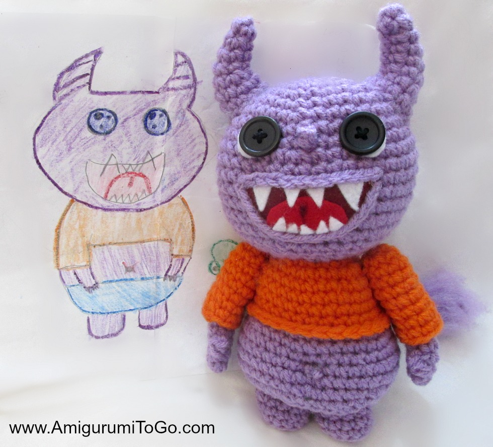 Amigurumi Monster Patterns : Yarny Monsters Pattern and Video ~ Amigurumi To Go