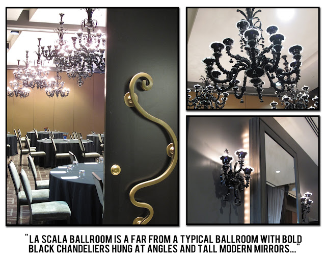 Hotel Sorella Houston wedding venue la scala ballroom planners tour texas