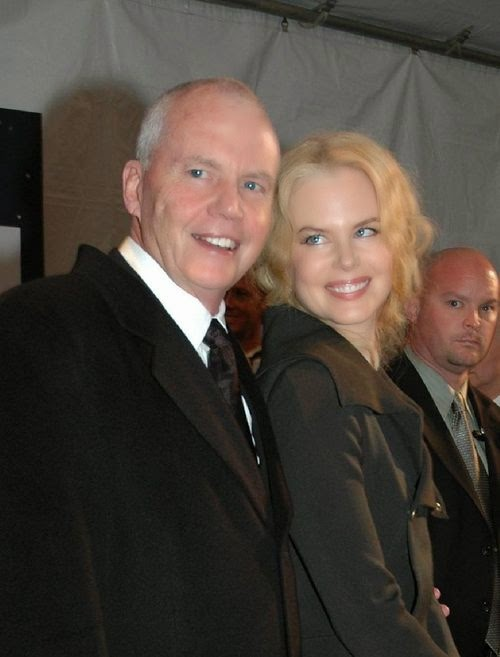 Nicole Kidman's father died in an accident