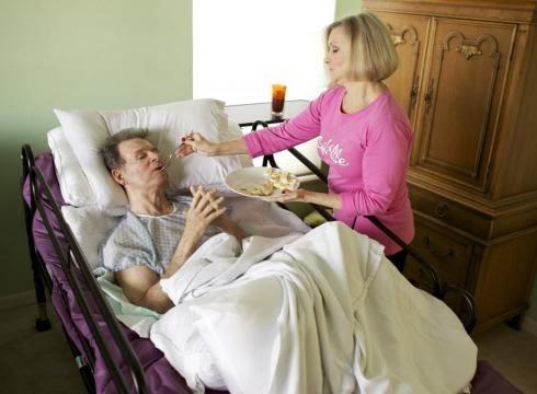 Quality home care for bedridden elderly