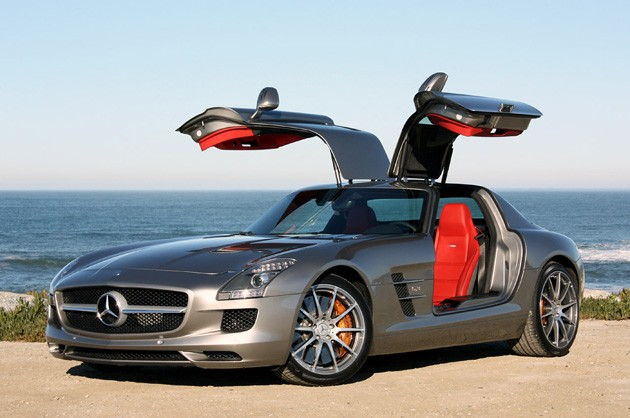 Mercedes Benz Trotted Out The SLS AMG GT3 And E350 4Matic Wagon Here In New  York, And Along With The Racy Supercoupe And Banginu0027 Wagon, Itu0027s Announced  ...