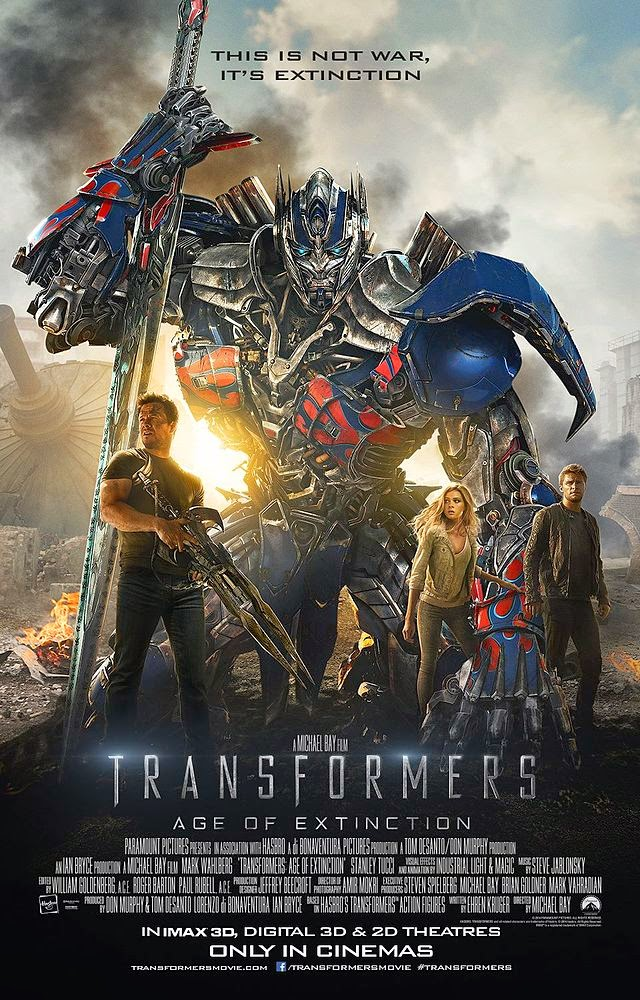Gambar Poster Film Transformers 4 Age of Extinction Terbaru