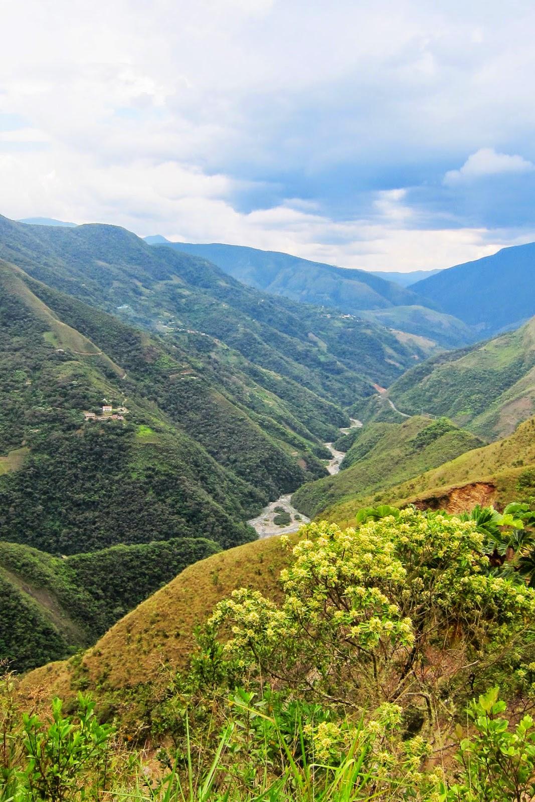 Death Road, Bolivia 2014