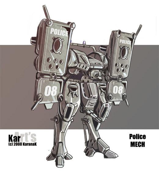 Police MECH por KaranaK